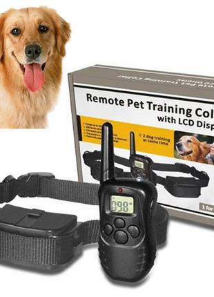 Электроошейник для дрессировки собак MHZ 0748