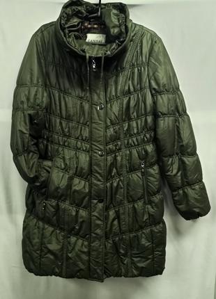 Длинное осеннее женское пальто canda