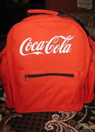 Рюкзак походный для двоих Кока Кола