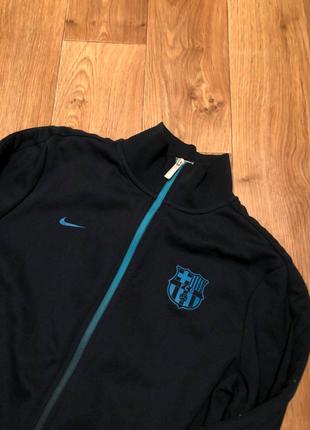 Спортивная кофта/олимпийка Nike FC Barcelona/ Найк фк Барселона