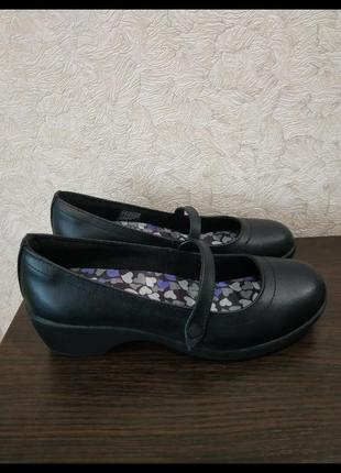 Туфли натуральная кожа Skechers