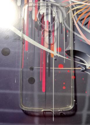 Чохол силіконовий для Motorola E5 Plus (прозорий)