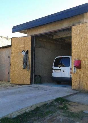 Гараж (бокс) под автобус, грузовик или СТО. Возможен обмен