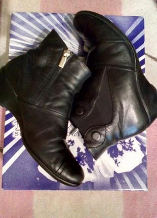 Ботинки натуральная кожа/ботинки утепленные
