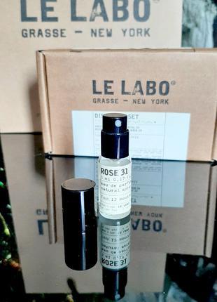Le Labo Rose 31 Оригинал Миниатюра Travel mini 5 мл spray