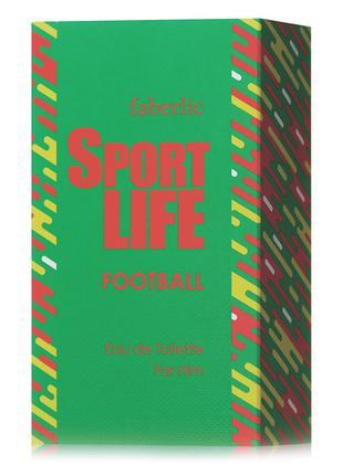 Туалетная вода для мужчин Sportlife Football Спортивная жизнь