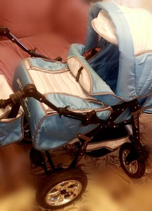 Детская коляска трансформер 3 в 1. Предложи свою цену!!!