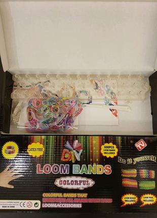 Резинки, станок для плетения браслетов Loom Band LB018