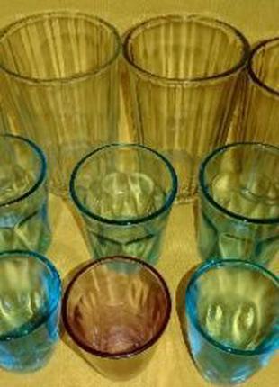 Стопка стакан гранёный