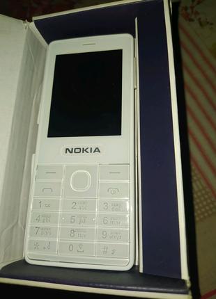 Кнопочный телефон Nokia 515 duos белый на 2 симки hd камера вацап