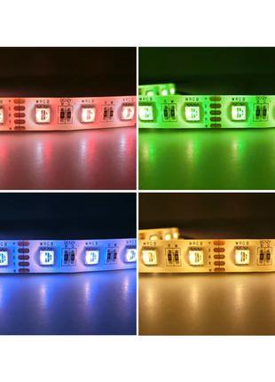 Светодиодная Лента RGBW+W (плюс белый тёплый цвет