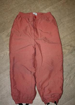 Зимние термо-брюки для девочки или мальчика ф.h&m р-98/104 отл...