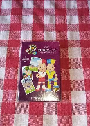 Euro 2012 набор карт петрусь