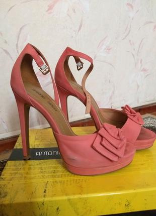 Босоножки на каблуках Antonio Biaggi