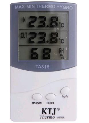 Термометр гигрометр TA 318 с выносным датчиком температуры