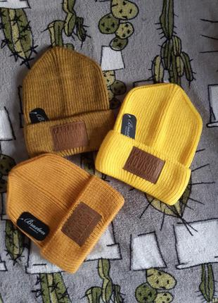 Стильная шапка осень-зима