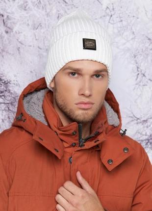 Двуслойная шапка-колпак,осень-зима