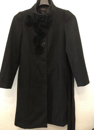 Пальто итальянское sandro ferone