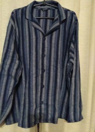 Пижама мужская фланелевая L(50)