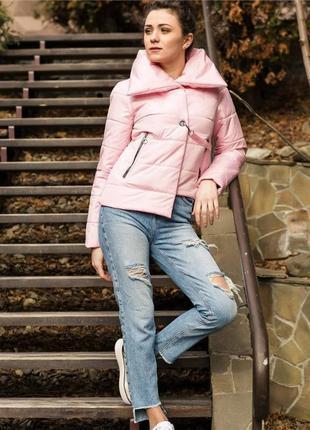 Стильная молодежная женская куртка весна-осень 2021, 44, 46, 4...