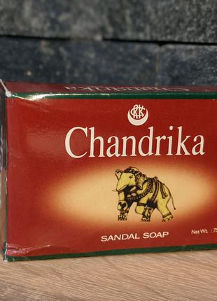 Chandrika Soap, Chandrika Сандаловое мыло, 75 g