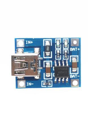 Модуль заряда TP4056 (mini-usb)