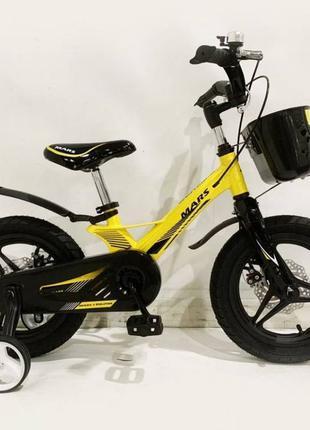 """Детский велосипед 14,16,18"""" Марс 2 Лёгкая рама Дисковый тормоз..."""