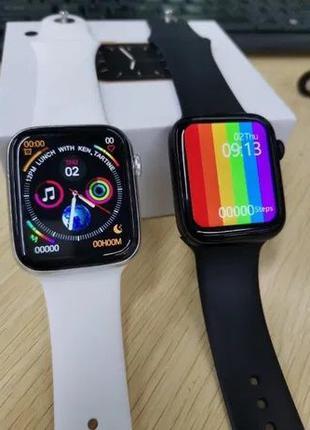 Smart watch W4/F8/T500/W34/Apple watch Умные часы Давление Кис...
