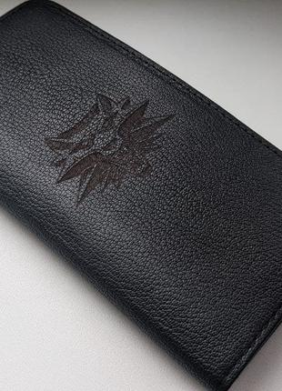 Кожаный кошелек/портмоне The Witcher