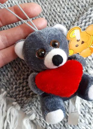 Мягкая игрушка брелок подвеска валентинка с сердцем - paul ham...