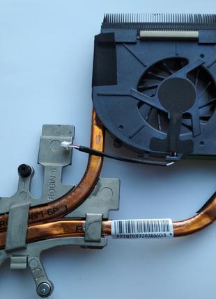 HP Pavilion dv5-1000 dv 5 1000 dv5 Радиатор охлаждение и кулер