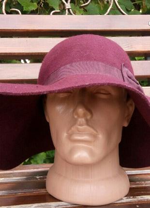 Шляпа фетровая,капелюх шерстяний
