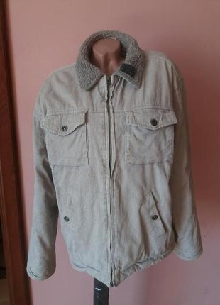 Мужская вельветовая куртка xl (52р)