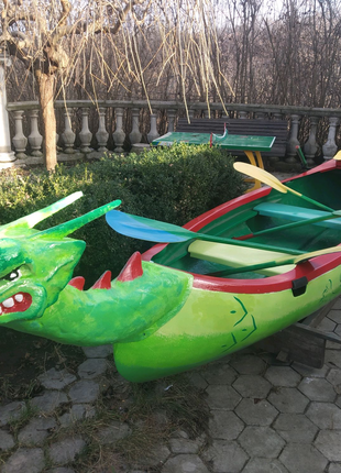 Лодки стеклопластиковые.