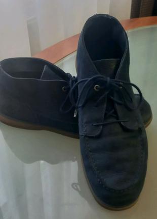 Шкір'яні чоловічі туфлі Timberland.