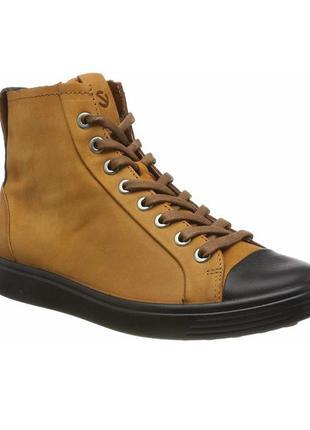 Ботинки ecco soft 7w р. 36 полуботинки новые! в наличии!! ориг...