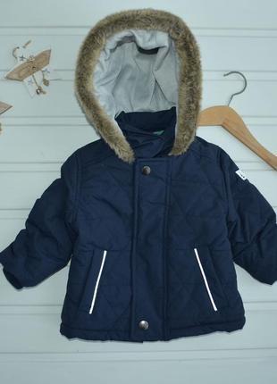 6-9 мес,демисезонная теплая куртка на весна/осень