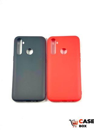 Цветной силиконовый чехол бампер для Realme C3