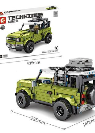 Конструктор 701943 Land Rover Defender Позашляховик Джип Ленд Ров