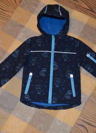Термокурточка куртка для мальчика topolino topomini размер 92 см