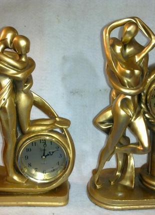 Настольные часы, статуэтка (каминные)