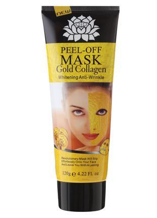 Золотая маска-пленка Gold collagen peel off face mask
