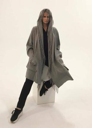 Лёгкое пальто кардиган женский 4хл 5хл adam brody большой размер