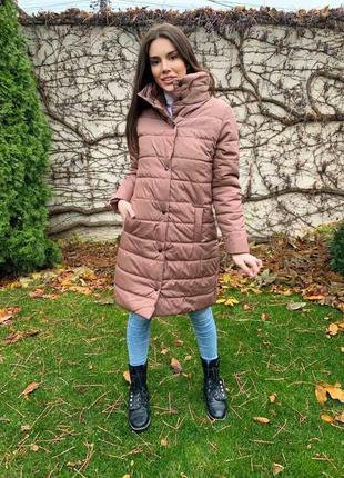 Зимнее пальто длинное куртка распродажа
