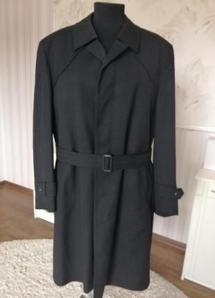 Классическое пальто на меховой подстежке, большой размер 54-56.