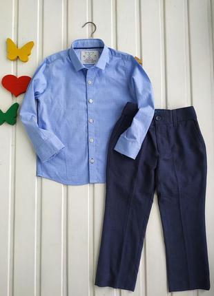 3-4 года, комплект одежды на мальчика,next