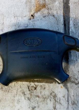 Подушка безопасности в руль Kia Clarus