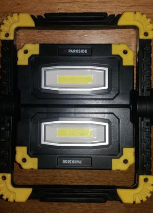 Аккумуляторный LED фонарь + PowerBank Parkside из Германии