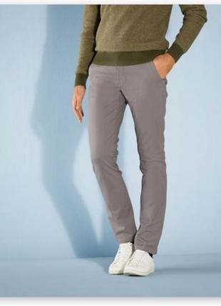 Мужские брюки, штаны чиносы livergy slim fit