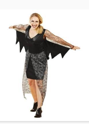Шикарное платье, костюм вампир на хэллоуин германия